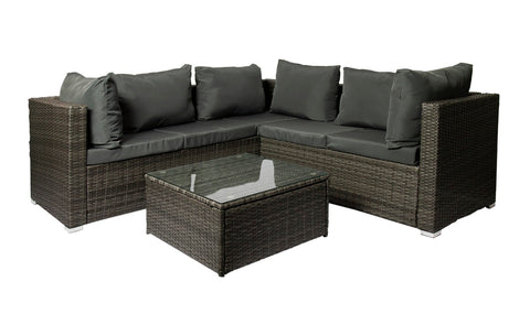 Fine Living - Bali Corner Rattan 3pc Suite (Free Shipping)