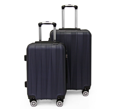 SideKick - Tanzanite 2pc Luggage Set - Navy (Free Shipping)