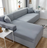 Fine Living L Shape Couch Cover Grey (Free Shipping)