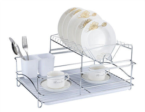 Fine Living Balcony Dish Rack - White (Free Shipping)