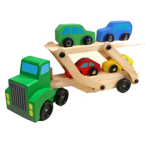 Jeronimo Double-Decker Wooden Truck (Free Shipping)