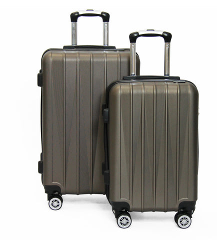 SideKick - Tanzanite 2pc Luggage Set - Bronze (Free Shipping)