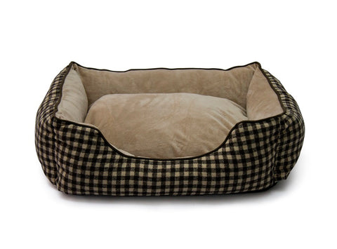 Rex - Foxly Dog Bed - Tartan (Free Shipping)