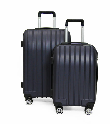 SideKick - Emerald 2pc Luggage Set - Navy (Free Shipping)