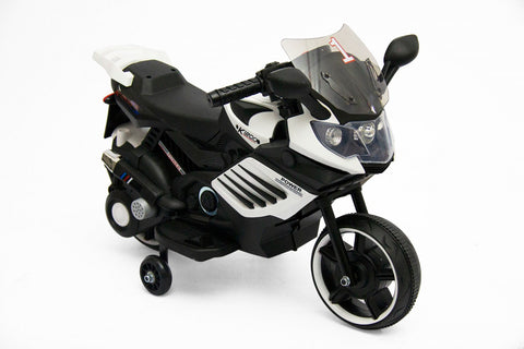 Jeronimo Power MotorBike - White (Free Shipping)