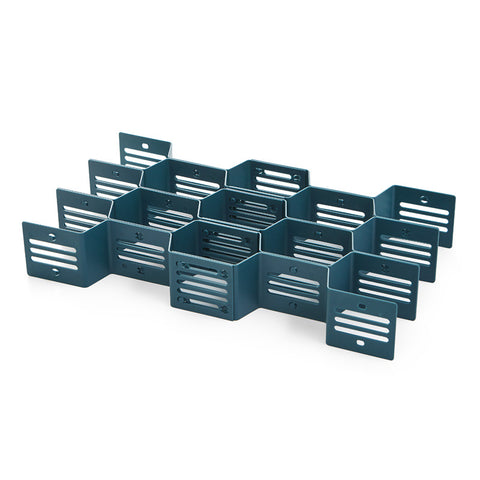 Fine Living Honeycomb Draw Organiser - Dark Blue (Free Shipping)