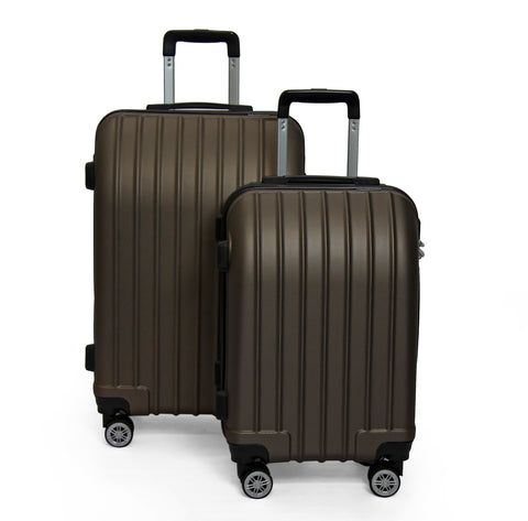 SideKick - Emerald 2pc Luggage Set - Bronze (Free Shipping)