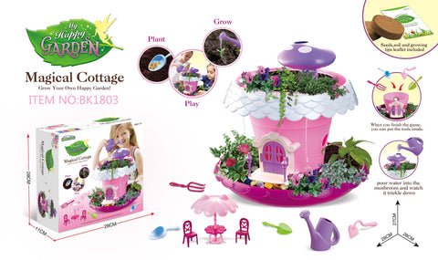 Jeronimo - DIY Garden house play set -Pink (Free Shipping)
