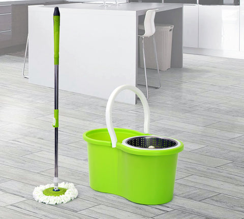 Spin Mop - Figure 8 - Green (Free Shipping)