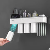Toothbrush and cup storage rack (Free Shipping)