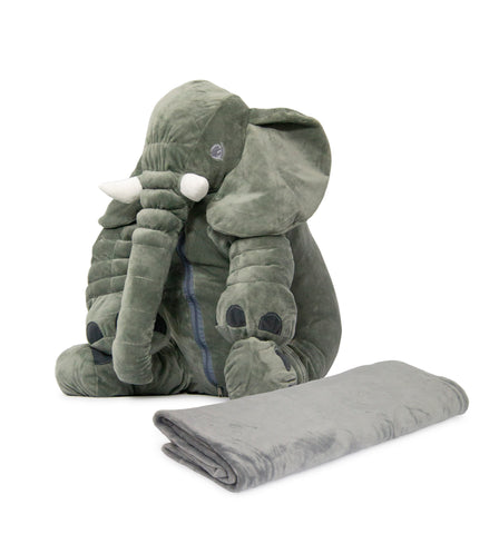 Nuovo - Ellie Cushion with Blanket - Grey (Free Shipping)