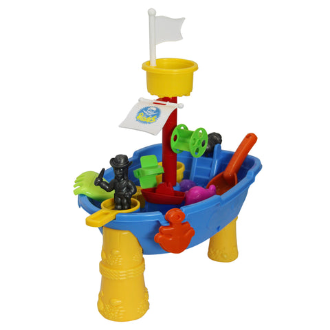Jeronimo - Pirate Boat Sand & Water Table (Free Shipping)