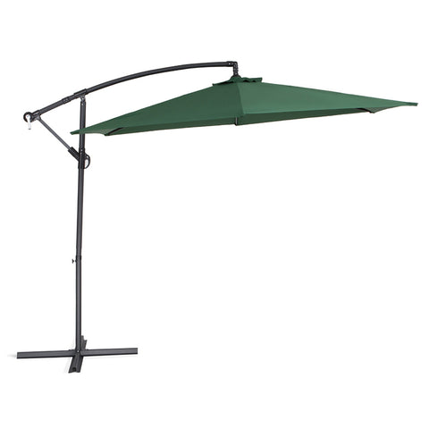 Umbrella - Vogue Cantilevever - Green (Free Shipping)