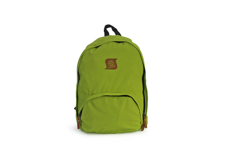 Side Kick - Foldable Backpack - Curved Zip - Lime (Free Shipping)