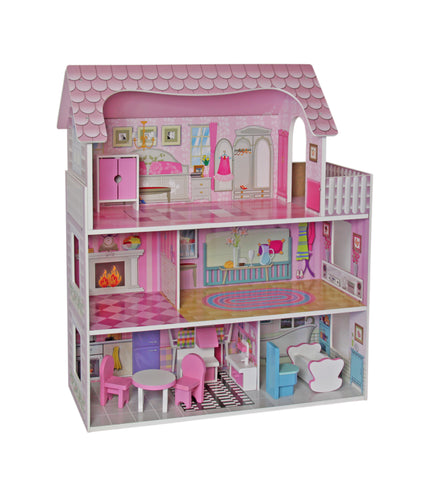 Jeronimo Wooden Doll County Cottage (Free Shipping)