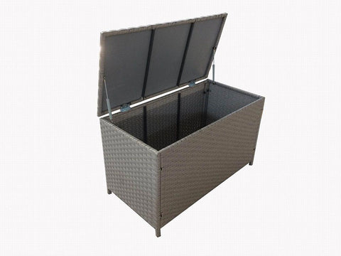 Fine Living - Rattan Storage Container - Dark Grey (Free Shipping)