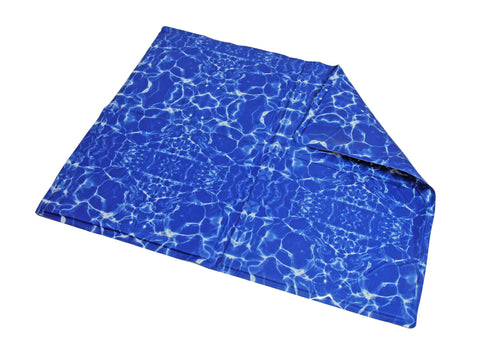 Pet Cooling Mat - Blue Waves - M (Free Shipping)