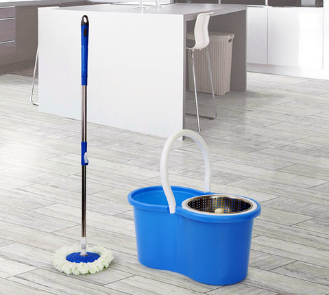 Spin Mop - Figure 8 - Blue (Free Shipping)