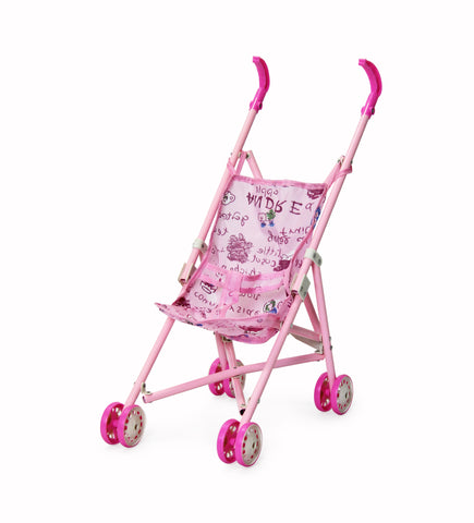 Jeronimo - Dolly Stroller - Pink Teddies (Free Shipping)