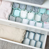 Fine Living Honeycomb Draw Organiser - Blue (Free Shipping)