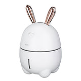 Bunny Humidifier with LED - White (Free Shipping)