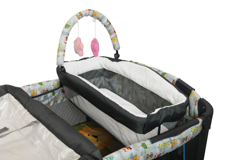 Nuovo Camp Cot with Bassinet (Free Shipping)