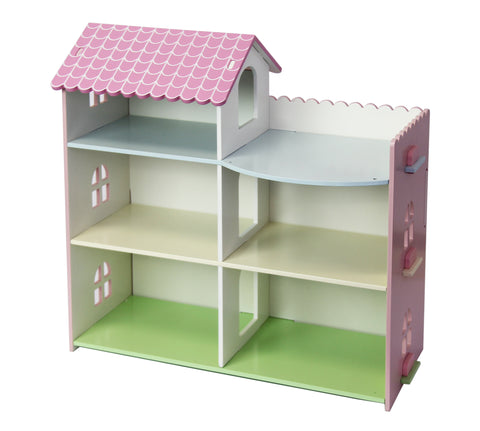 Wooden Doll House - Rooftop Patio (Free Shipping)