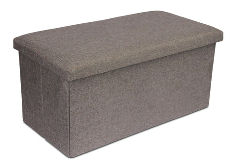 Storage Ottoman Double - Light Grey (Free Shipping)