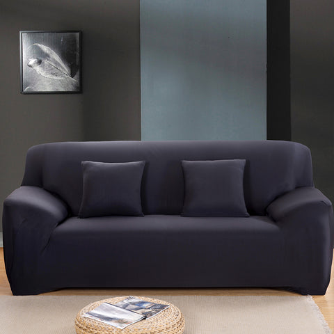 Fine Living 2 Seater Couch Cover Black (Free Shipping)
