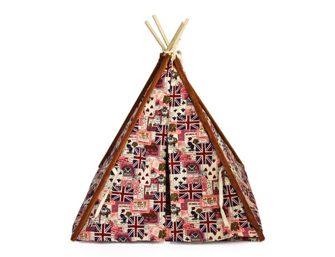 Rex - Pet Teepee Tent - Flag (Free Shipping)