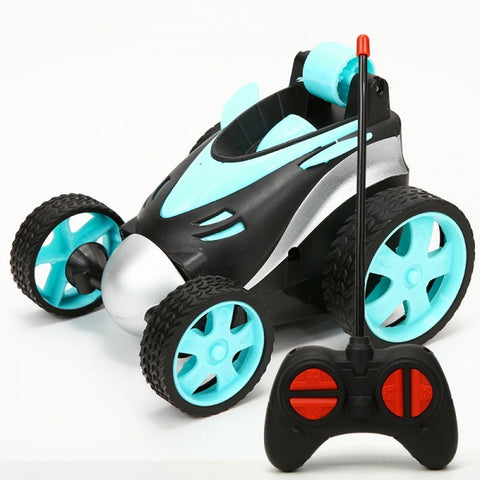 Stunt Car - 27MHZ - Blue (Free Shipping)