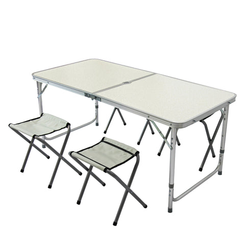 Folding Camping Table and Stools (Free Shipping)