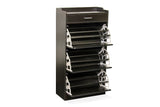 Fine Living Mirror Shoe Cabinet - 3 Tier with Draw (Free Shipping)