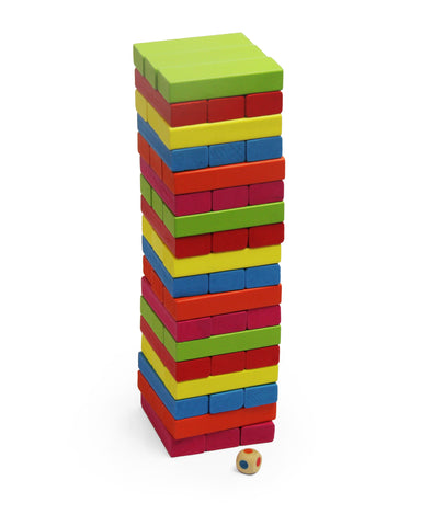 Jeronimo Wooden Stacking Game - multicolour (Free Shipping)