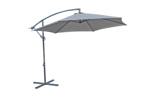 Umbrella - Vogue Cantilever - Grey (Free Shipping)