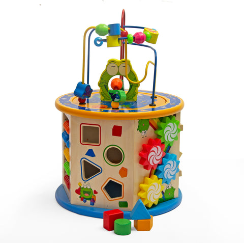 Wooden Learning Centre - Round (Free Shipping)