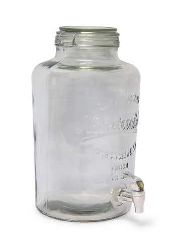 F/L - Vivant Beverage dispenser - Clear glass (Free Shipping)