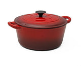 Fine Living - 4pc Cast Iron Set - Red (Free Shipping)