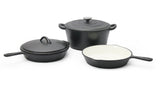 Finery - Marco Cast Iron 5pc Set - Matte Black (Free Shipping)