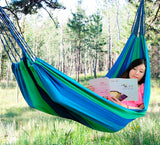 Element - Hammock Bed Single - Blue/Green (Free Shipping)