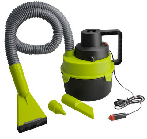 Wet/Dry Car Vacuum - Green/Black (Free Shipping)