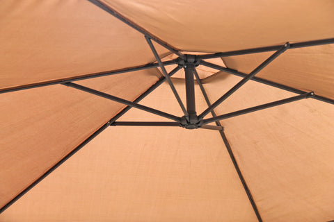 Umbrella - Vogue Cantilever - Coffee Beige (Free Shipping)