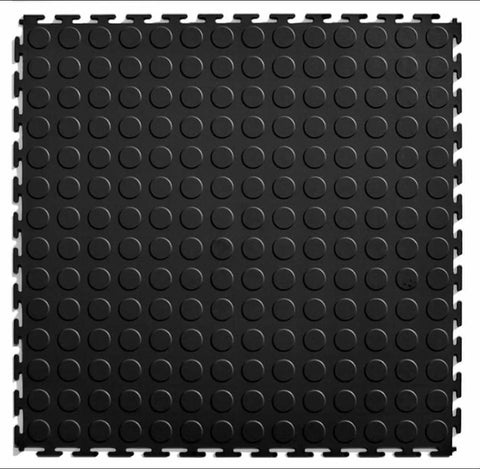 Interlocking tiles - black 1sqm (Free Shipping)
