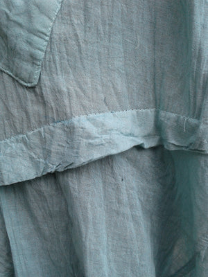 Diagonal Dress with Hankerchief Hem,Cotton Dresses,[Easy Breezy Clothing]