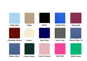 cotton clothing color chart, Cotton Dresses [Easy Breezy Clothing]