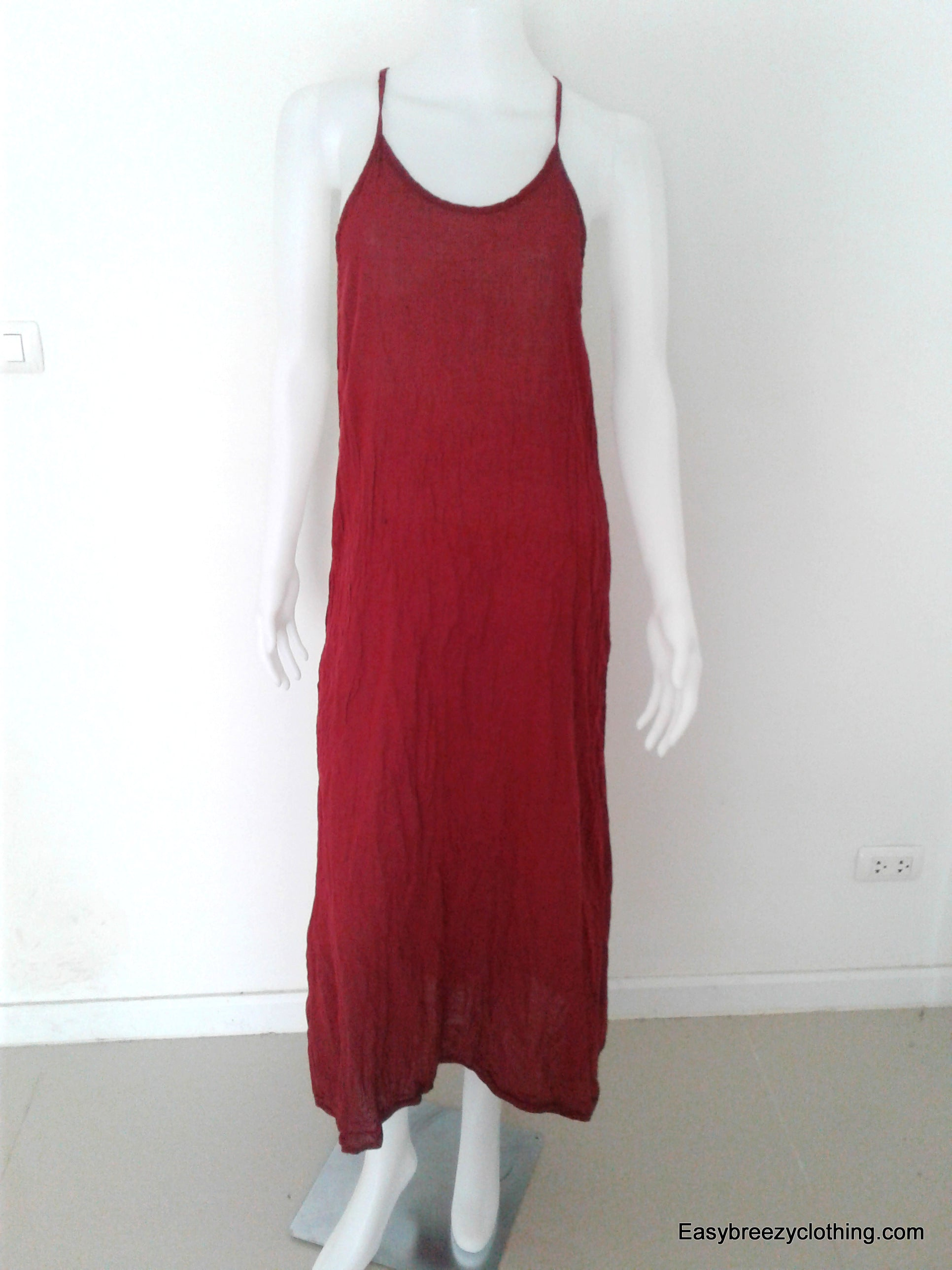 Maxi Summer Dress,Cotton Dresses,[Easy Breezy Clothing]