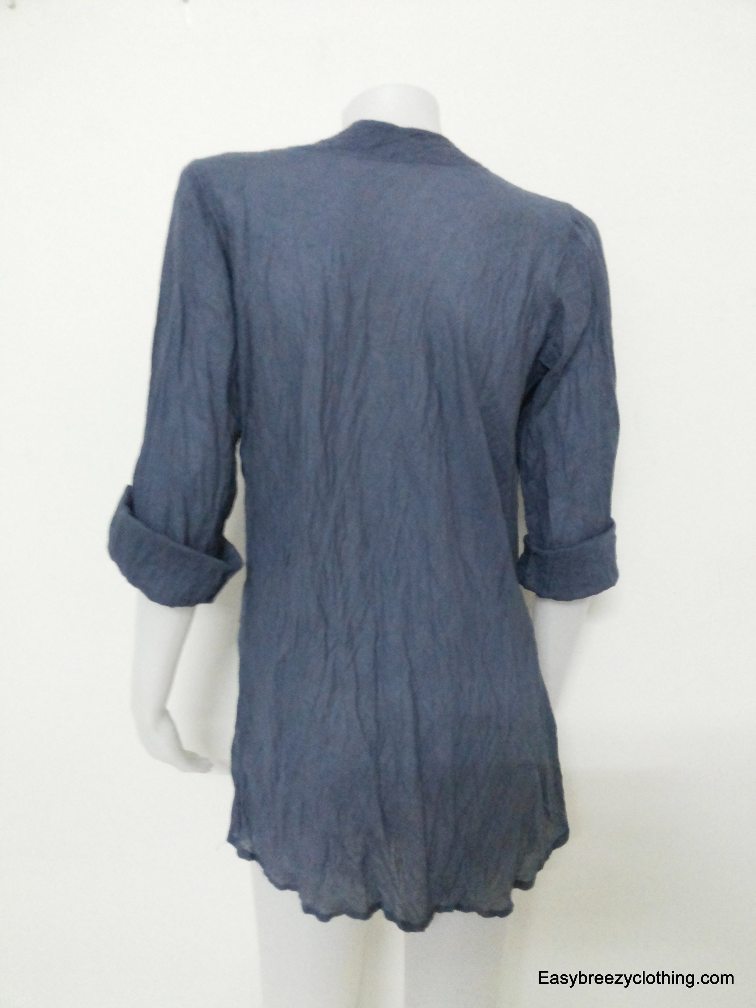 Scoop Neck Top,Cotton Blouses and Tunics,[Easy Breezy Clothing]