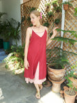 Cotton Midi Dress with Spaghetti Straps,Cotton Dresses,[Easy Breezy Clothing]