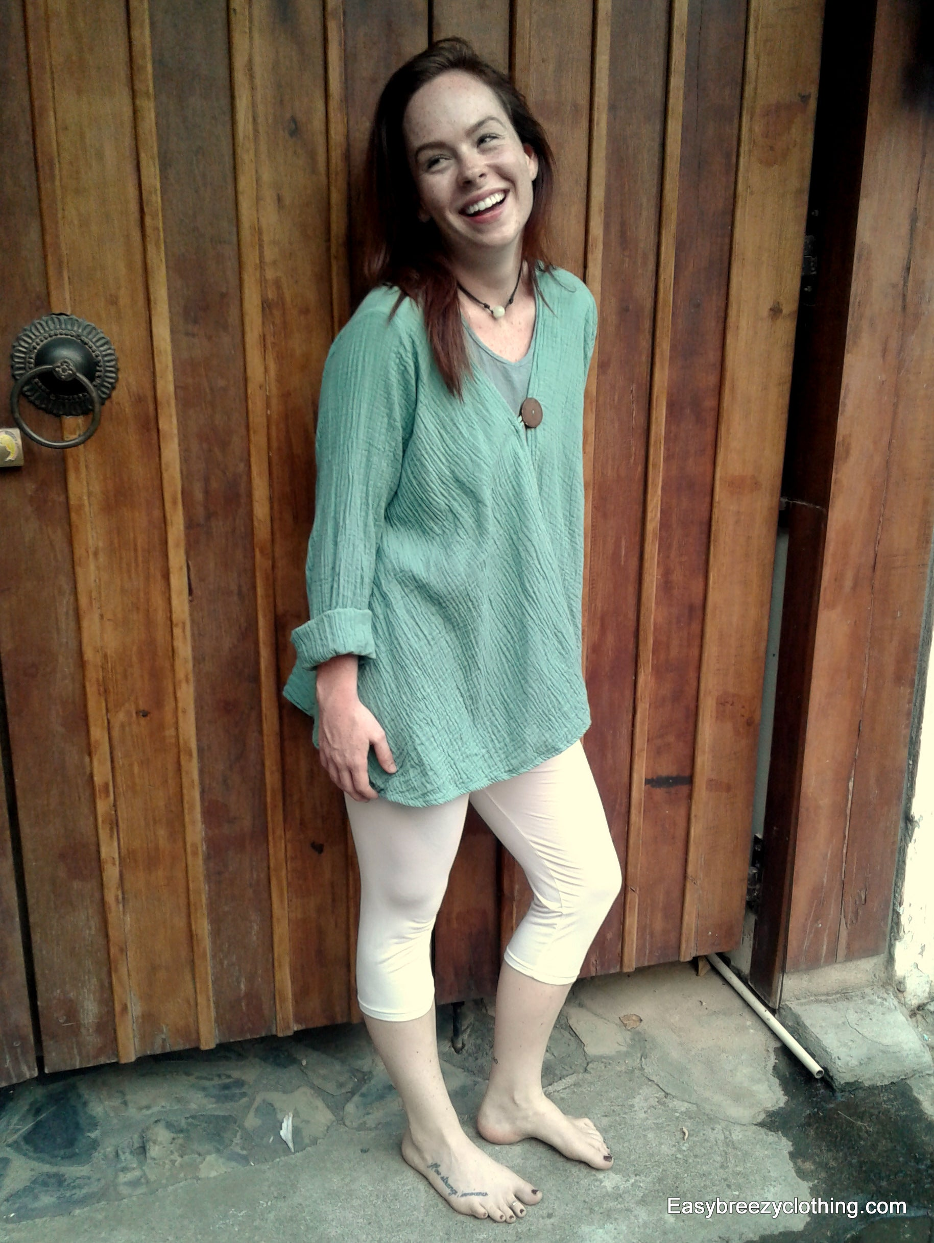 Lightweight  Summer Cardigan for Women,Double Gauze Tops,[Easy Breezy Clothing]