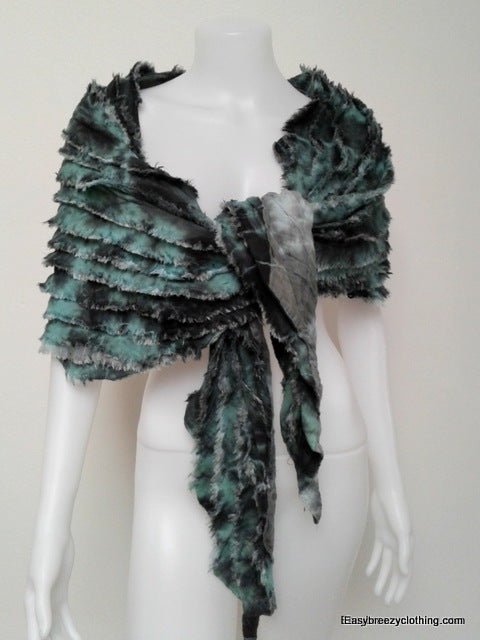Fifties-Style Thick Cotton Scarf,Hats, Wraps & Ponchos,[Easy Breezy Clothing]